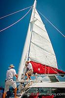 Sailing the Gulf of Mexico to Keewaydin Island, Naples, Florida, USA. Photos by Debi Pittman Wilkey