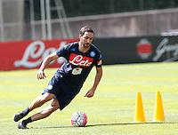 ritiro precampionato Napoli Calcio a  Dimaro 28 Luglio 2015<br /> <br /> Preseason summer training of Italy soccer team  SSC Napoli  in Dimaro Italy July 28, 2015