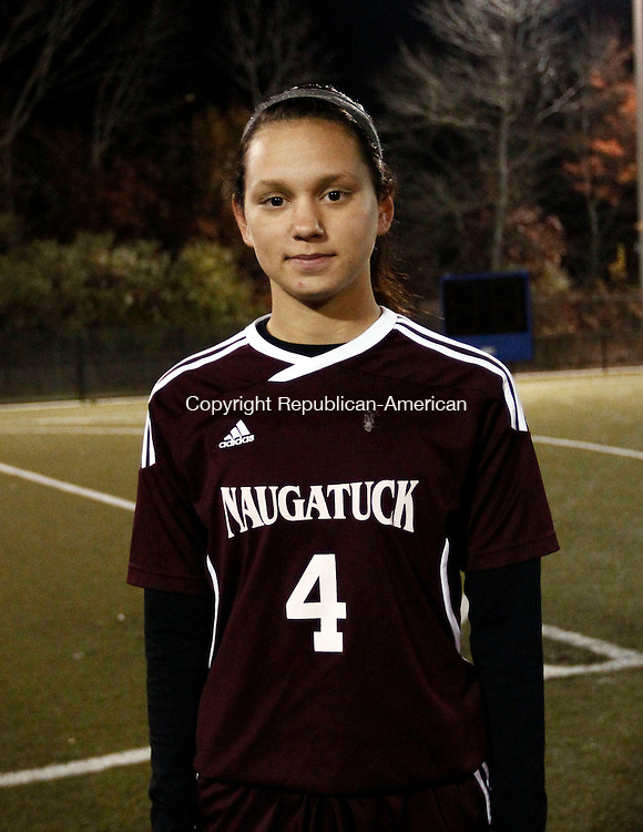 Waterbury, CT- 30 October 2013-103013CM21- NVL Girls Soccer, Most Outstanding Senior: Alexya Alves, Naugatuck.   Christopher Massa Republican-American