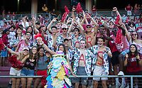 Stanford, CA - September 21, 2019: Fans at Stanford Stadium. The Stanford Cardinal fell to the Oregon Ducks 21-6.