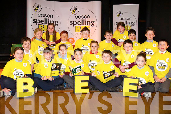The schools in Kerry Easons Bee spelling semi-final was held in Scoil Eoin primary school on Wednesday.