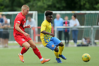 Sam Ling of Leyton Orient and Terrell Egbri of Harlow Town during Harlow Town vs Leyton Orient, Friendly Match Football at The Harlow Arena on 6th July 2019