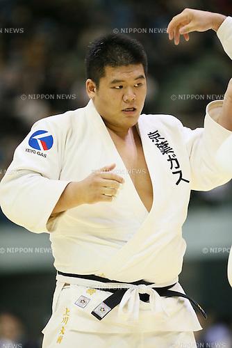 Daiki Kamikawa, <br /> NOVEMBER 10, 2013 - Judo : <br /> Kodokan Cup 2013 <br /> Men's+100kg <br /> at Chiba Port Arena, Chiba, Japan. <br /> (Photo by YUTAKA/AFLO SPORT)