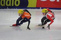 SHORT TRACK: DORDRECHT: Sportboulevard, 14-02-2016, ISU World Cup Short Track Final 2015/2016, ©photo Martin de Jong