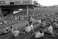 A Scene from The Grateful Dead Concert at Pine Knob Music Theatre, Clarkston, MI on 19 June 1991