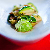 Three 'B's Brussels Sprouts at Crush restaurant in Seattle. (Photo by Andy Rogers)