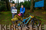 Kevin Murphy and Anluan Dunne of Mountain Biking Kerry at the Nuns Wood in Collis Sandes, which is one of the sites proposed for the Urban Mountain Biking Park including competition grade Pump track.