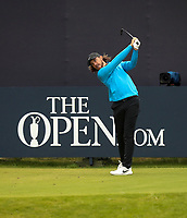 210719 | The 148th Open - Final Round<br /> <br /> Tommy Fleetwood of England on the 1st during the final round of the 148th Open Championship at Royal Portrush Golf Club, County Antrim, Northern Ireland. Photo by John Dickson - DICKSONDIGITAL