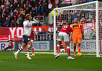 Preston North End's Callum Robinson celebrates scoring his side's first goal <br /> <br /> Photographer David Horton/CameraSport<br /> <br /> The EFL Sky Bet Championship - Bristol City v Preston North End - Saturday 10th November 2018 - Ashton Gate Stadium - Bristol<br /> <br /> World Copyright © 2018 CameraSport. All rights reserved. 43 Linden Ave. Countesthorpe. Leicester. England. LE8 5PG - Tel: +44 (0) 116 277 4147 - admin@camerasport.com - www.camerasport.com