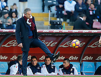 Sinisa Mihajlovic  during the  italian serie a soccer match,between SSC Napoli and Torino       at  the San  Paolo   stadium in Naples  Italy , December 18, 2016