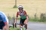 Luca Wackermann (ITA) Bardiani CSF feeling the pace on the first pass of the final climb during Stage 1 of the Route d'Occitanie 2019, running 175.5km from Gignac-Vallée de l'Hérault to Saint-Geniez-d'Olt-et-d'Aubrac , France. 20th June 2019<br /> Picture: Colin Flockton | Cyclefile<br /> All photos usage must carry mandatory copyright credit (© Cyclefile | Colin Flockton)