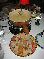 Swiss Cheese Fondue, Swiss Alps