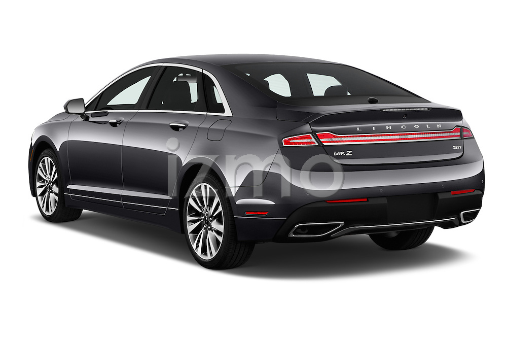 Car pictures of rear three quarter view of 2018 Lincoln MKZ Reserve 4 Door Sedan Angular Rear