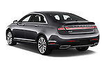 Car pictures of rear three quarter view of 2017 Lincoln MKZ Reserve 4 Door Sedan Angular Rear