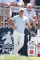 Brooks Koepka (USA) waits to tee off on the first hole during the third round of the 100th PGA Championship at Bellerive Country Club, St. Louis, Missouri, USA. 8/11/2018.<br /> Picture: Golffile.ie | Brian Spurlock<br /> <br /> All photo usage must carry mandatory copyright credit (&copy; Golffile | Brian Spurlock)