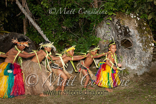 All age groups, including the very young, participate and enjoy traditional dance, Yap Micronesia (Photo by Matt Considine - Images of Asia Collection) (Matt Considine)