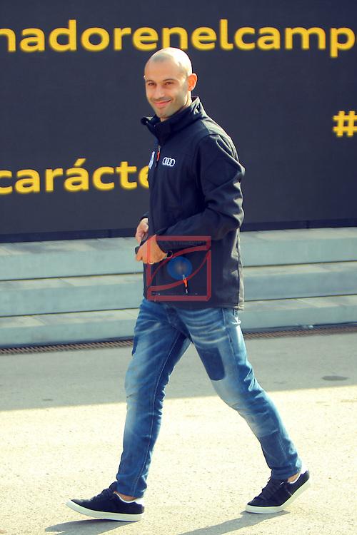 AUDI Premium Partner del FC Barcelona.<br /> Javier Mascherano.