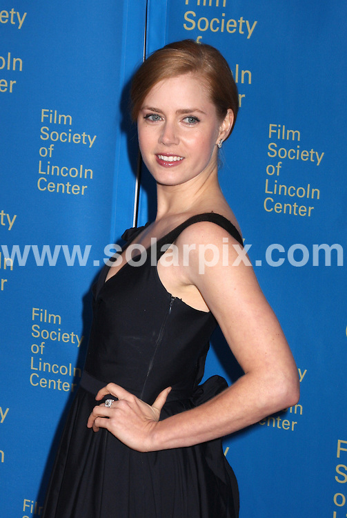 **ALL ROUND PICTURES FROM SOLARPIX.COM**.**SYNDICATION RIGHTS FOR UK, SPAIN, PORTUGAL, AUSTRALIA, S.AFRICA & DUBAI (U.A.E) ONLY**.The 35th Annual Film Society of Lincoln Center Gala Tribute to Meryl Streep at the Green Room in Avery Fisher Hall in New York  USA  .This pic:Amy Adams.JOB REF:6143-PHZ/Janet Mayer          DATE:14_04_08 .**MUST CREDIT SOLARPIX.COM OR DOUBLE FEE WILL BE CHARGED* *UNDER NO CIRCUMSTANCES IS THIS IMAGE TO BE REPRODUCED FOR ANY ONLINE EDITION WITHOUT PRIOR PERMISSION*