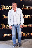 "Actor Antonio Banderas during ""Justin And The Knights Of Valour"" film presentation in Spain, in Villaviciosa de Odon castle, in Madrid, Spain. September 11, 2013. (Alterphotos/Victor Blanco) /nortephoto.com"