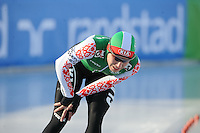 SCHAATSEN: BOEDAPEST: Essent ISU European Championships, 07-01-2012, 1500m Ladies, Tatyana Mikhaylova BLR, ©foto Martin de Jong