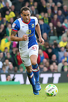Blackburn Rovers' Elliott Bennett in action<br /> <br /> Photographer David Shipman/CameraSport<br /> <br /> The EFL Sky Bet Championship - Norwich City v Blackburn Rovers - Saturday 11th March 2017 - Carrow Road - Norwich<br /> <br /> World Copyright &copy; 2017 CameraSport. All rights reserved. 43 Linden Ave. Countesthorpe. Leicester. England. LE8 5PG - Tel: +44 (0) 116 277 4147 - admin@camerasport.com - www.camerasport.com