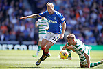 12.05.2019 Rangers v Celtic: Scott Arfield and Kristoffer Ajer
