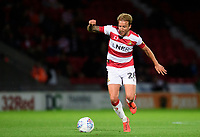 Doncaster Rovers' James Coppinger<br /> <br /> Photographer Chris Vaughan/CameraSport<br /> <br /> EFL Leasing.com Trophy - Northern Section - Group H - Doncaster Rovers v Lincoln City - Tuesday 3rd September 2019 - Keepmoat Stadium - Doncaster<br />  <br /> World Copyright © 2018 CameraSport. All rights reserved. 43 Linden Ave. Countesthorpe. Leicester. England. LE8 5PG - Tel: +44 (0) 116 277 4147 - admin@camerasport.com - www.camerasport.com