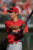 So Taguchi of the St. Louis Cardinals vs. the Atlanta Braves March 16th, 2007 at Champion Stadium in Orlando, FL during Spring Training action.  Photo copyright Mike Janes Photography 2007.
