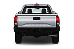 Straight rear view of a 2018 Toyota Tacoma SR Access Cab 4x2 4-Cyl Auto Long Bed 4 Door Pick Up stock images