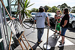"""Holden New Zealand, """"Mullet Amnesty Day"""", trade your mullet for a Holden Astra, West City Holden, Auckland, New Zealand, Saturday 1st April 2017. Photo: Simon Watts/www.bwmedia.co.nz"""
