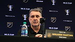 MARIETTA, GA - DECEMBER 06: Atlanta United FC head coach Gerardo Tata Martino. The MLS Cup 2018 Team Press Conferences were held on December 6, 2018 at the Children's Healthcare of Atlanta Training Ground in Marietta, GA.