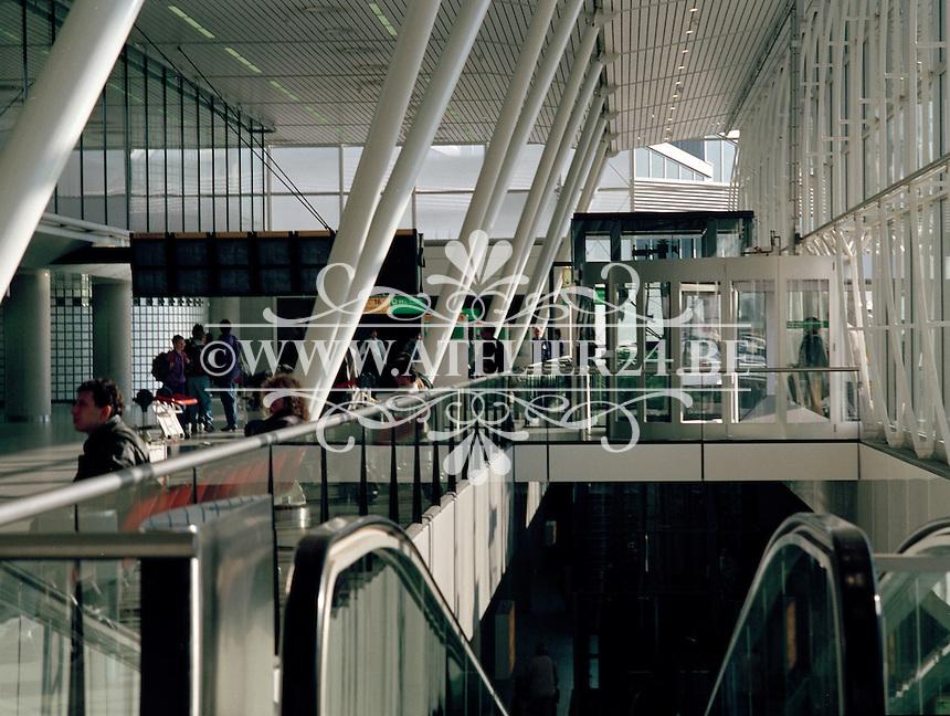 Februari 1994. Luchthaven van Zaventem..