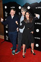 writer, Mike White, director Miguel Arteta and Salma Hayek<br /> at the premiere of &quot;Beatriz at Dinner&quot; as part of Sundance London at the Mayfair Hotel, London. <br /> <br /> <br /> &copy;Ash Knotek  D3271  01/06/2017