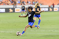 Houston, TX - Saturday July 22, 2017: Margaret Purce during warm ups prior to a regular season National Women's Soccer League (NWSL) match between the Houston Dash and the Boston Breakers at BBVA Compass Stadium.
