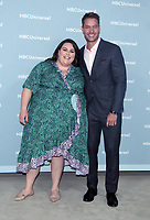 NEW YORK, NY - MAY 14: Chrissy Metz and Justin Hartley at the 2018 NBCUniversal Upfront at Rockefeller Center in New York City on May 14, 2018. <br /> CAP/MPI/RW<br /> &copy;RW/MPI/Capital Pictures