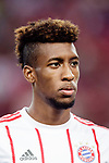 Bayern Munich Forward Kingsley Coman Warming up during the International Champions Cup match between FC Bayern and FC Internazionale at National Stadium on July 27, 2017 in Singapore. Photo by Marcio Rodrigo Machado / Power Sport Images