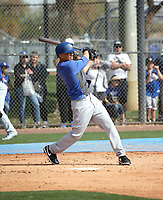 Mookie Betts - Los Angeles Dodgers 2020 spring training (Bill Mitchell)