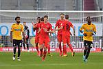 Spiel am 35 Spieltag in der Saison 2019-2020 in der 3. Bundesliga zwischen dem FC Ingolstadt 04 und dem SV Waldhof Mannheim am 24.06.2020 in Ingolstadt. <br /> <br /> Torjubel bei Ingolstadt nach dem Treffer zum 1:0 durch Stefan Kutschke (Nr.30, FC Ingolstadt 04)<br /> <br /> Foto © PIX-Sportfotos *** Foto ist honorarpflichtig! *** Auf Anfrage in hoeherer Qualitaet/Aufloesung. Belegexemplar erbeten. Veroeffentlichung ausschliesslich fuer journalistisch-publizistische Zwecke. For editorial use only. DFL regulations prohibit any use of photographs as image sequences and/or quasi-video.