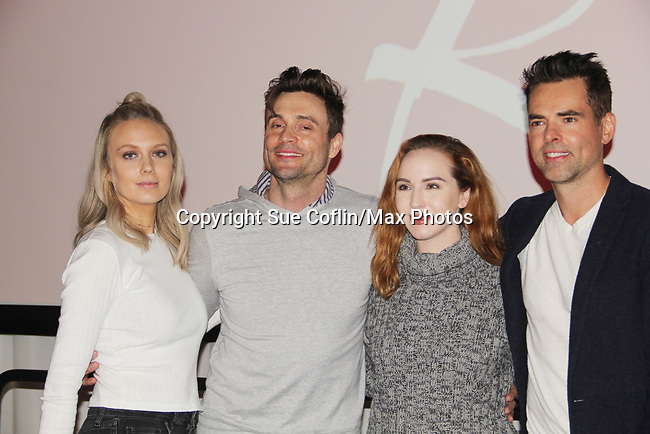The Young and The Restless actors Melissa Ordway, Daniel Goddard, Camryn Grimes, Jason Thompson came together on February 16, 2019 for a fan q & a, meet and great with autographs and photo taking hosted by Soap Opera Festival's Joyce Becker at the Hollywood Casino in Columbus, Ohio. (Photos by Sue Coflin/Max Photos)