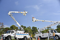 2017 FPL Hurricane Irma restoration in Hobe Sound, Fla. on Sept. 13, 2017.