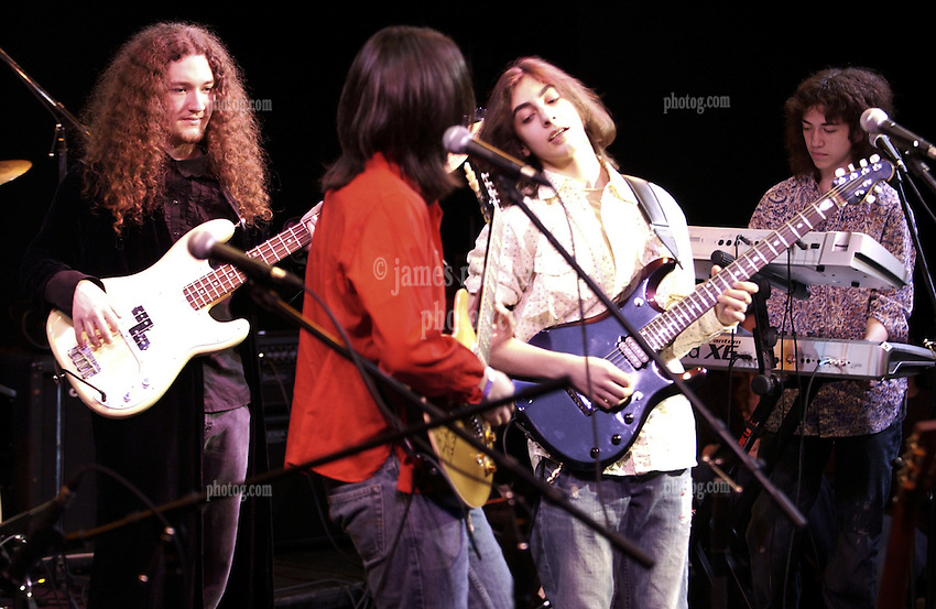 Paul Green School of Rock All-Stars with Jon Anderson 19 April 2007 at the Fairfield Theatre Company StageOne