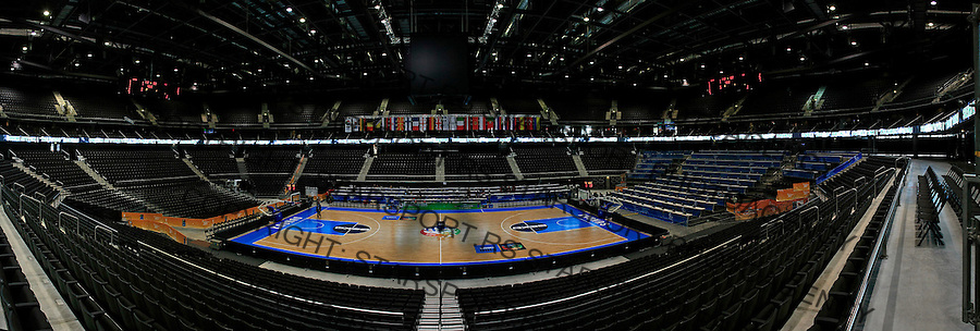Kauno Arena, Kaunas, Lithuania, Eurobasket 2011, Tuesday, September 13, 2011. (photo: Pedja Milosavljevic)