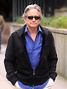 Micheal Douglas on the set of Walk Street 2  in New York, Thursday, October1, 2009. (AP Photo/Donald Traill)