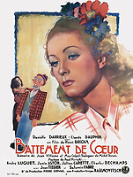 Beating Heart (1940) <br /> (Battement de coeur)<br /> POSTER ART<br /> *Filmstill - Editorial Use Only*<br /> CAP/MFS<br /> Image supplied by Capital Pictures