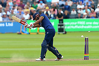 Varun Chopra of Essex is bowled out  by Chris Liddle during Gloucestershire vs Essex Eagles, NatWest T20 Blast Cricket at The Brightside Ground on 13th August 2017
