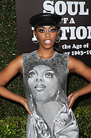 22 March 2019 - Los Angeles, California - Nafessa Williams. The Broad Museum Celebrates the Opening of Soul Of A Nation: Art in the Age of Black Power 1963-1983 Art Exhibition held at The Broad Museum. <br /> CAP/ADM/FS<br /> &copy;FS/ADM/Capital Pictures