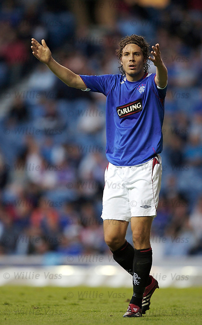 Karl Svensson, Rangers.stock season 2006-2007.pic willie vass