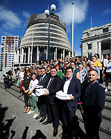 190321 Christchurch Terror Attacks - Firearms Petitions Presentation At Parliament