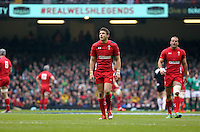 Pictured: Dan Biggar of Wales Saturday 14 March 2015<br />