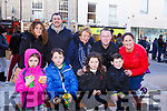 Enjoying the family fun day at the  Kerry County Council and Tralee Chamber Alliance will Street Party and Family Fun Day in The Mall on Saturday last, seated l-r, Sophie and Ronan Brick, Ciara and Kian Cronin.<br /> Back l-r, Evonne Cronin, David Brick, Rosarie, Denis and Sharon Cronin.